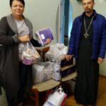 Прихожани храму зібрали допомогу для дітей-сиріт